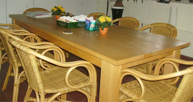 mensen rond de tafel